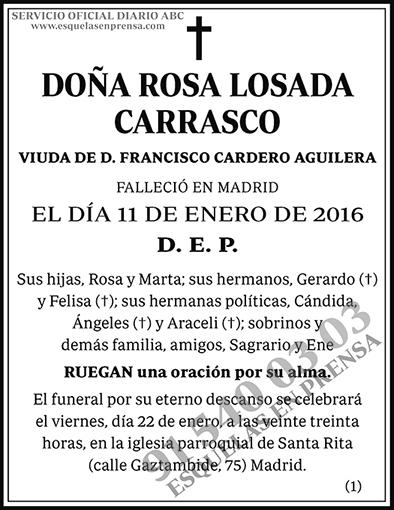 Rosa Losada Carrasco